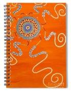 Blessing Sun Spiral Notebook