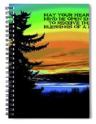 Blessings Of A New Day Spiral Notebook