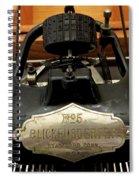 Blickensderfer No. 5 Nameplate Spiral Notebook