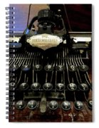 Blickensderfer No. 5 Out Of The Case Spiral Notebook