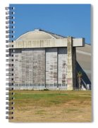 Blimp Hanger From Closed El Toro Marine Corps Air Station Spiral Notebook