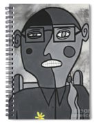 Blind Date Girl Spiral Notebook
