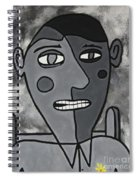 Blind Date Guy Spiral Notebook