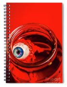 Blind Fear Spiral Notebook