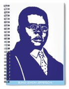 Blind Lemon Jefferson Spiral Notebook