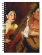 Blind Singers 1912 Spiral Notebook