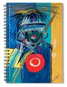 Blind To Culture Spiral Notebook