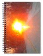 Blinding Iowa Sunrise Spiral Notebook