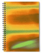 Blinds As Abstract Landscape Spiral Notebook