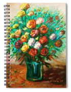 Blissful Blooms Spiral Notebook