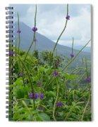 Blissful Purple Spiral Notebook