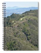 Blithedale Ridge On Mount Tamalpais Spiral Notebook