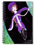 Biking Holiday Spiral Notebook