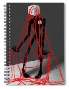 Blocked Spiral Notebook