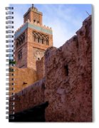 Blocks And High Tower Architecture From Orlando Florida Spiral Notebook