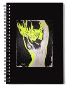 Blonde Back Spiral Notebook
