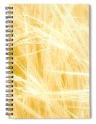 Blonde Summers Spiral Notebook