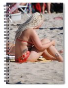 Blondie Braids Spiral Notebook