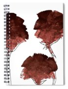 Blood Flower Part2 Spiral Notebook
