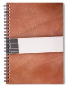 Blood Glucose Test Strip Spiral Notebook