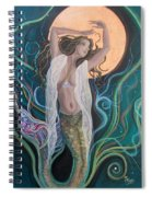 Blood Moon Goddess  Spiral Notebook