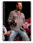 Blood Sweat And Tears Singer Bo Bice Spiral Notebook