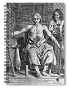 Blood Transfusion From Dog To Man, 1692 Spiral Notebook