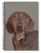 Bloodhound Spiral Notebook