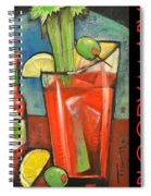Bloody Mary Poster Spiral Notebook