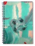 Bloody Tears In Spring Spiral Notebook