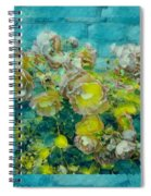 Bloom In Vintage Ornate Style Spiral Notebook
