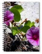 Bloomin Cross Vine Spiral Notebook