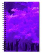 Blooming Amethyst Spiral Notebook
