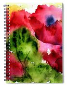 Blooming Spiral Notebook