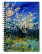 Blooming Appletrees 56 Spiral Notebook