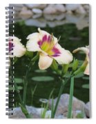 Blooming By The Pond Spiral Notebook