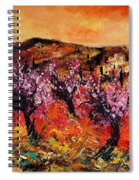 Blooming Cherry Trees Spiral Notebook