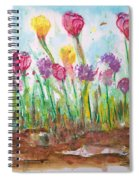 Blooming Colors Spiral Notebook