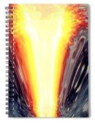 Blooming Crevasse  Spiral Notebook