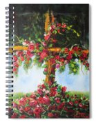 Blooming Cross Spiral Notebook