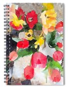 Blooming Fools Spiral Notebook