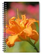 Blooming In August Spiral Notebook
