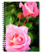 Blooming In Phases Spiral Notebook
