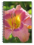 Blooming In Pink Spiral Notebook