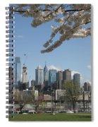 Blooming Philadelphia  Spiral Notebook