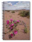 Blooming Prickley Pear Spiral Notebook