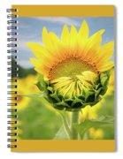 Blooming Sunflower Spiral Notebook