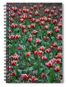 Blooming Tulips Spiral Notebook