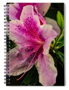 Blooming Wet Spiral Notebook