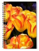 Blooming With My Smiling Soul Spiral Notebook